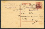 Belgien1915: 10 Cent.Karte E.Tritschler, ANTWERPEN -zensiert- - Besetzungen 1914-18