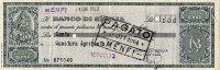 POLIZZINO DI CASSA DEL BANCO DI SICILIA DEL 1963 DA LIRE 100 - [ 2] 1946-… : Republiek