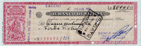 RARO ASSEGNO BANCARIO DEL BANCO DI SICILIA DA 500.000 LIRE DEL 1964 - [ 2] 1946-… : Repubblica