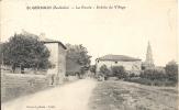 Ardèche- St-Germain- La Route,Entrée Du Village . - France