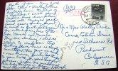 == Japan , Kyoto  Hotel Karte  EF - 1956 Higashyma Nach USA Flugpost - Poste Aérienne