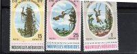 Nouvelles Hébrides:Année 1969( Le Saut Du Gaul) N°286,287;288..