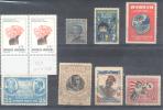 CROCIERA ITALIANA 1924, CENTRE REENVERSE RARE NEUTRO SUR FLEUR ARGENTINA FUERA DE CATALOGO ET AUTRES - Kilowaar (max. 999 Zegels)