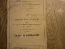 PENSION DES OUVRIER DES ETAB INDUSTRIE DE L ETAT CARNET DE QUITANCES - Documents