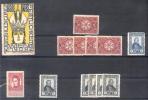 AUTRICHE VIGNETTES KAISERHULDIGUNGS 1848-1908 WIEN WIENER FREIWILLIGE RADETZKY ELISABETH FUR OSTERREICH - Austria