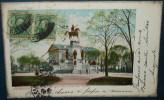 RICHMOND.Washington Monument And Capitol.Cpa,voyagé,be,beau Tampon - Richmond