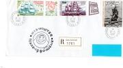 Pli MIDWINTER Réc/ Terre Adelie  Du 21/6/1990 Avec Pa 88 Et Pa 113A)(2 Coins Avec Pliure) - Terres Australes Et Antarctiques Françaises (TAAF)