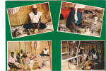 19774 Republique Du Niger, Musée National Niamey, 4017 Les Artisans. Hoa Qui . ! Pliures!
