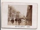 MARSEILLE LA CANEBIERE 1912 PHOTO PETIT FORMAT ANIMEE - Places