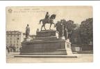 Cp, 20(2A), Ajaccio, Statue De Napoléon 1er Et De Ses Quatres Frères, Voyagée - Ajaccio