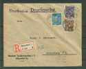 Düsseldorf  20.1.1923  Nach Elsterberg  !!! (Del-2692) - Briefe U. Dokumente
