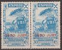 CJBE14-LA688.Maroc.Marocco. CABO JUBY. BENEFICENCIA 1943 (Ed. 14**par) Sin Charnela LUJO - Cabo Juby