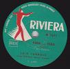 78 Trs  RIVIERA 1071 - LUIS TUEBOLS Orchestre Typique Argentin - Tangos - YIRA...YIRA - RODIGUEZ PENA - 78 Rpm - Schellackplatten