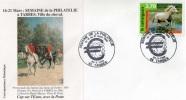 Semaine De La Philatélie à Tarbes, Ville Du Cheval -peinture De A.PARIS, 1999 (gl7) - Chevaux