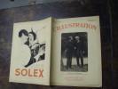 1932 :Bal Slave BELGRADE ; Exode ROUMANIE ; 6- J Cyclistes PARIS ; La MAISON MAUDITE ;Horloge Parlante ;Autoroute Lyon - L'Illustration
