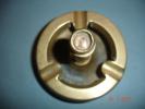 Cendrier Cuivre Bouchon Boussole ,dia:10,5,H:12,5 Cms - Maritime Decoration