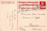 CPA Prépayée, Sans Illustration, Circulée En 1917 De Lausanne à Agde (s4.5) - Entiers Postaux