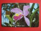 Chip Phone Card , $10 Etecsa, 30.000, Flower, Orquidea, - Cuba
