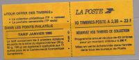 France  Carnet Marianne De BRIAT  N° 2630-C 1 - Booklets