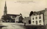 CPA 22 SAINT-GILLES-VIEUX-MARCHÉ - L´ÉGLISE ET LE BOURG - TBE - Édit. Waron N° 4546 - Saint-Gilles-Vieux-Marché