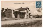 SANCERGUES . ( 18 )  -  La Gare . - Train - Sancergues
