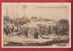 P0422 Panorama Jerusalem Mit Einzug Christi.Bewohner,Christus Entgegeneilend.Gelaufen Circulé En 1913. - Palestine