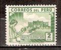Timbre Pérou Y&T N° 356 *. Charnière. Colonia Infantil. 2 Cts. Cote : 0.30 € - Peru