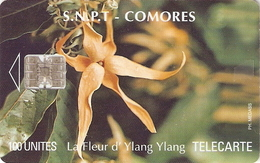 *COMORE* - Scheda A Chip Usata - Comoros
