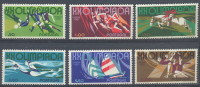 PORTUGAL   1172/77  XX  MNH  POSTGAAF  NEUF  S.C. OLYMPICS  MUNCHEN 1972 - Summer 1972: Munich