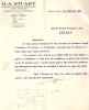 Belle Facture Du 03/02/1928- PAPEETE-TAHITI--D.A.STUART-Agence En Douane- Commission-importation-exportation. - Invoices & Commercial Documents