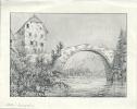 Vieux Pont De Broc, Gruyères - Vieux Papiers