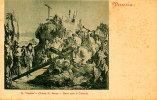 Venezia - Santino Cartolina GESU' SALE IL CALVARIO (G. Tiepolo) Anno 1910 Circa - OTTIMO D40 - Religione & Esoterismo