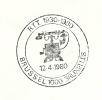 Belgium Cover With Postmark  TELEPHONE, BERLINER 1912, Bruxelles 12-4-1980 - Telecom