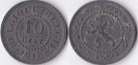 BELGIQUE * 10 Centimes  1916 ( German Occupation )  *  BELGIUM - 04. 10 Céntimos