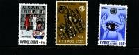 CYPRUS - 1976  ANNIVERSARIES SET  MINT NH - Chypre (République)