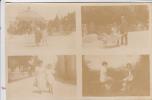 REF19.264  ISERE. VILLARD-DE-LANS.RARE CARTE-PHOTO  4 VUES RUE. PLACE. ETC... - Villard-de-Lans
