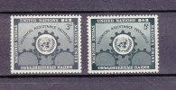 NATIONS  UNIES  NEW-YORK  1953   N° 19 - 20   NEUFS**   CATALOGUE YVERT - New York -  VN Hauptquartier