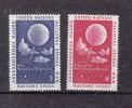 NATIONS  UNIES  NEW-YORK  1957   N° 48 - 49      NEUFS**   CATALOGUE YVERT - New York -  VN Hauptquartier
