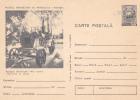 "OIL SONDE ""MERNHRADT"",1975  POSTCARD ENTIER POSTAL UNUSED ROMANIA. - Pétrole"