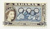Bahamas, Year 1964, Mi 207, Olympic Games Tokyo, MNH** - Bahama's (1973-...)