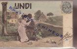 LES JOURS DE LA SEMAINE  LUNDI TH. BAUER - Cartes Postales