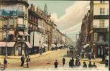 Cpa 54 _ NANCY - Rue St Georges, Point Central, Très Animée, Boutiques, Pharmacie, Colorisée - Nancy