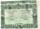 CIA MADRILENA DE ALUMBRADO Y CALEFACCION POR GAS ( 1880) - Electricité & Gaz