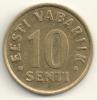 Eesti 10 Senti 1997 KM#22 - Estonia