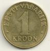 Eesti  1 Kroon 1998 KM#35 - Estonie