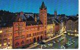 1023 - BS BASEL - BÂLE - ACHAT IMMEDIAT - Marktplatz Mit Rathaus Bei Nacht - Place Marché Et Hôtel Ville La Nuit - BS Bâle-Ville