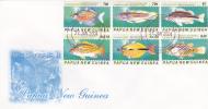 Papua New Guinea-2004 Fishes FDC - Papua New Guinea