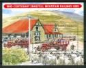 1995 Man Trasporti Transport Treni Railways Trains Block MNH**B318 - Isola Di Man