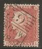 "Grande-Bretagne (GB) Victoria 1855 - Penny Rouge C8 Planche 34 BL Rare Oblitération ""Madeleine Smith"" - SG#29/33  Sc#16 - 1840-1901 (Viktoria)"
