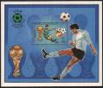 IBYA MNH MS M.S M/S MINIATURE SHEET WORLD CUP FOOTBALL CHAMPIONSHIP SPAIN ESPANA SOCCER 1982 SPORT SPORTS TROPHY - Libye